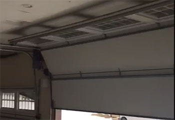 Track Replacement Project | Garage Door Repair Tomball, TX
